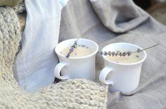 London Fog Tea Latte with Lavender — Anna Elizabeth Lavender Syrup, Lavender Tea, Lavender Buds, Vanilla Whipped Cream, Vanilla Syrup, London Fog Recipe, London Fog Tea Latte, Lavender Benefits, Culinary Lavender