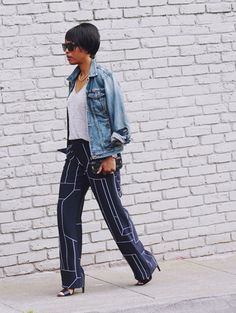 These mature ladies are killing the game. Estilo Blogger, Work Casual, Casual Wear, Summer Outfits Women, Who What Wear, Street Style Women, Cool Outfits, Style Inspiration, Style Ideas