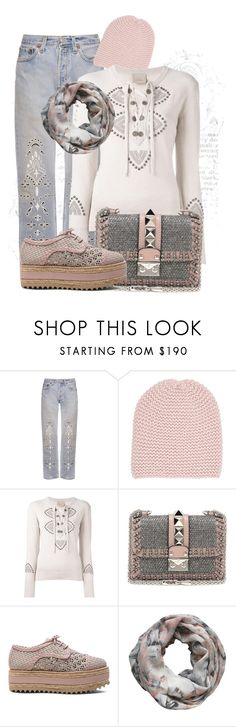 """""""Untitled #1100"""" by theserialnester ❤ liked on Polyvore featuring Bliss and Mischief, Wommelsdorff, Laneus, Valentino, Zimmermann and Alva-Norge"""