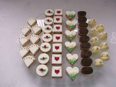 Christmas Baking, Christmas Cookies, Sweet Bar, Wedding Sweets, Lego Cake, Small Cake, Confectionery, Yummy Cakes, Afternoon Tea
