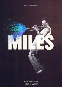 Miles Davis / Poster Design♫♥♫♫♥♫♥♥J Miles Davis Poster, Design Graphique, Art Graphique, The Design Files, Web Design, Jazz Poster, Plakat Design, Poster Design, Print Design