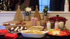 Christmas Buffet ideas #25DaysofChristmas