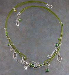 """Beautiful use of PMC.  I need to experiment with small """"shapes"""" to add to jewelry."""