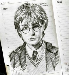 Harry Potter drawings art is part of pencil-drawings - Harry Potter Harry Potter See it Harry Potter Kunst, Harry Potter Sketch, Harry Potter Painting, Harry Potter Face, Harry Potter Artwork, Harry Potter Pictures, Harry Potter Wallpaper, Harry Potter Characters, Harry Potter Drawings Easy