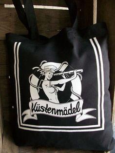 Rockabella Beutel im Matrosen Style von Küstenmädel auf DaWanda.com