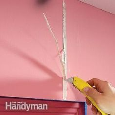 Fixing nail pops, stress & settling cracks plus more from the Family Handyman.