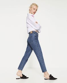 MOM JEANS-View all-JEANS-WOMAN | ZARA United States