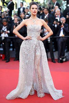 Alessandra Ambrosio - 2016 Cannes Red Carpet's Best-Dressed Celebrities