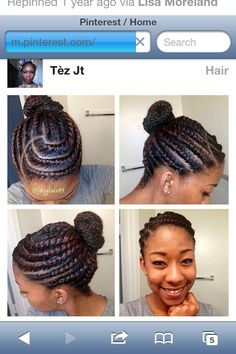 Natural protective style