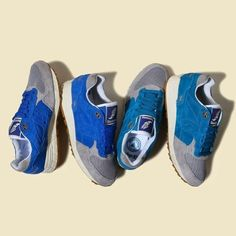 promo code bf3f5 4605d Bodega x Saucony Elite Shadow 5000 Reissue 10th anniversary blue mesh suede  Japan Boston Running Shoes