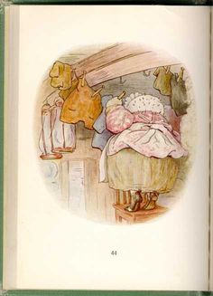 Beatrix Potter - The Tale of Mrs. Tiggy Winkle - Tigglewinkle Hangs Clothes