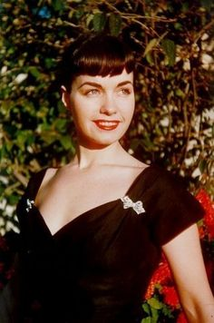 Bettie Page- thinking im gonna bring back my bangs