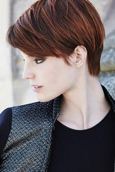 Michelle Williams pour Louis Vuitton coupe courte