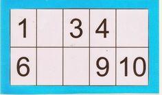 5 bingo  de números