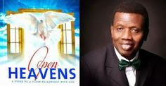 Open Heavens Daily Devotional Messages, By Pastor E.A Adeboye.: Open Heavens and Open Heaven 26 January Frid. 5 April, July 1, January 2018, Heaven 17, Bible Reading For Today, Spiritual Warfare, Daily Devotional, Names Of Jesus, Held