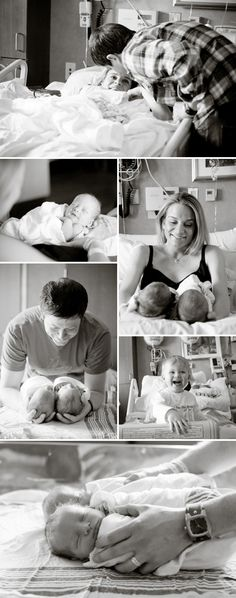 hospital newborn photos (plus c-section photo ideas) I hope my friends want me to take newborn baby pics of their families in the hospital!! I <3 these moments more than anything.