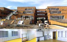 Mayr Schulmöbel stattet Bildungscampus in der neuen Seestadt Aspern aus Mansions, House Styles, Home Decor, Education, City, School, House, Decoration Home, Manor Houses