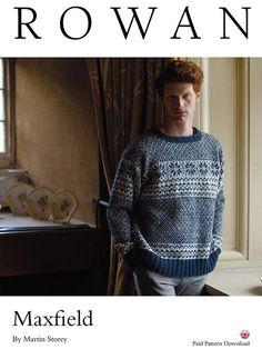 Maxfield Sweater in Rowan Felted Tweed DK - D211 - Downloadable PDF