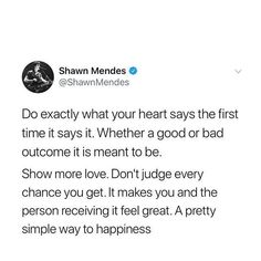 A fan asked an inspirational advice of shawn and this is his answer Shawn Mendes Quotes, Shawn Mendes Imagines, Tweet Quotes, Twitter Quotes, Inspirational Tweets, Shawn Mendes Photoshoot, Life Quotes, Lyric Quotes, Qoutes