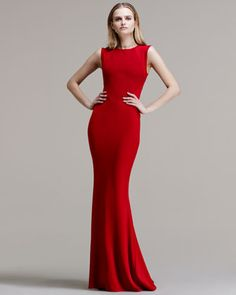 Understated elegance...Paneled-Bodice Mermaid-Skirt Gown by Stella McCartney at Neiman Marcus.