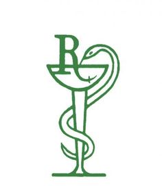 """are other """"Caduceus"""" to represent Pharmacy, but the Medical one has two serpents, so I prefer one serpent Medical Symbols, Medical Logo, Becoming A Pharmacist, Pharmacy Store, Pharmacy Cake, Branding Design, Logo Design, Logo Branding, Graphic Design"""