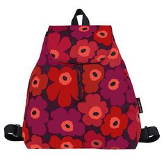If you didn't get a new back-to-school pack this semester, this one may change your mind. Marimekko Perenna Red/Burgundy Unikko Backpack - $180