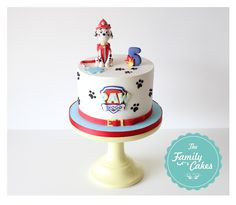 Paw Patrol - Marshall - Cake | Bolo Patrulha Pata Baby Boy Birthday Cake, Girls 3rd Birthday, Puppy Birthday Parties, Carnival Birthday Parties, Paw Patrol Birthday Theme, Paw Patrol Party, Marshall Cake Paw Patrol, Torta Paw Patrol, Bolo Minnie