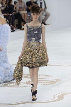 Défile Chanel Haute couture Automne-hiver 2014-2015 - Look 30