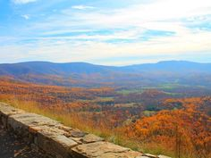 Fall foliage is seen from Shenandoah National Park's Skyline Drive, Virginia ~ Photo by.Candice Trimble/Your Take© National Weather, Shenandoah National Park, Blue Ridge Mountains, Fall Photos, Mother Nature, State Parks, Virginia, National Parks, Skyline