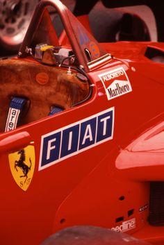 Ferrari Pit. Monaco 1984