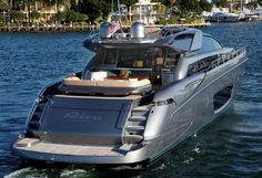 kenny chesney yaught | The yacht in question is a Riva Domino in Metallic Ice, and at 86 feet ...