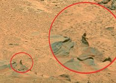 NASA posted a photograph (PIA10216, Google it-same photo as the woman figure was found!) taken by the Mars Spirit Rover on their web site that bloggers around the world began scanning over carefully in order to catch anything that NASA may have accidentally let slip through. To everyone's amazement some anonymous person in Asia did and posted it on the Internet causing widespread excitement over the possibilities of life existing on Mars.