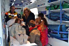 Voluntarios de Protección Civil imparten un taller de primeros auxilios para niños - villalbainformacion.com
