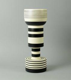 """Memphis"" Vase, Ettore Sottsass, Bitossi Ceramiche"