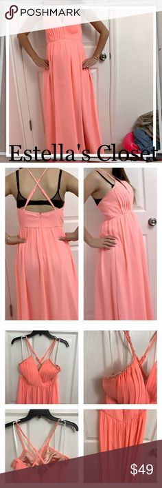 Giani Bernini long prink dress size small Giani Bernini long prink dress size small 	 Description: Brand: Giani Bernini Color: Pink Size: small  it is adjustable and can fit up to size 5  its brand new with tag. only worn to model the dress. please ignore my prego belly :)   PLEASE DO NOT TAKE MY PICTURE. THESE ARE 100% BY ME! Giani Bernini Dresses Prom