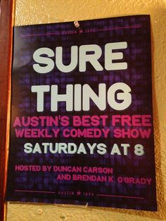 This Free Comedy Show Doesn't Disappoint | http://austinitetips.com