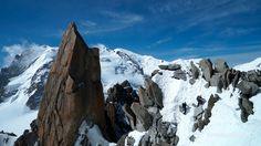 10865_ Arête des Cosmiques Aiguille du Midi Chamonix Alpinisme Millet Ba...