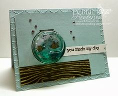 Debbie's Designs: Free Tutorials, Tips, Techniques: Gel Water with the Treat Cups