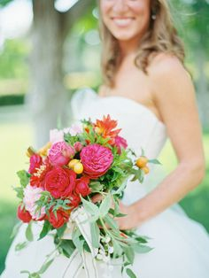 Wedding Colors, Wedding Flowers, Wedding Day, Wedding Dresses, Bouquet Photography, Hand Tied Bouquet, Zinnias, Floral Bouquets, Dahlia