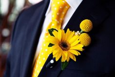 Gerbera boutonniere,wedding accessories,bride flowers by IrynaFleur on Etsy Yellow Boutonniere, Rustic Boutonniere, Boutonnieres, Sunflower Boutonniere, Wedding Boutonniere, Daisy Bouquet Wedding, Rose Wedding, Fall Wedding, Dream Wedding