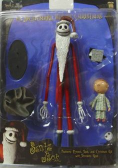 Santa Jack N B C Sack Xmas Kid Shrunken Head Stand New | eBay