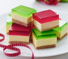 Jelly Belly Cheesecake Slice