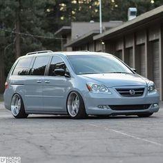 Custom Honda Odyssey Minivan