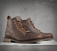 Darrol Boots - Brown | Casual | Official Harley-Davidson Online Store