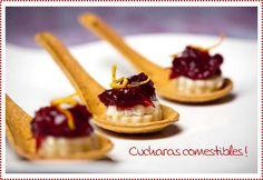 Edible Spoons - Cucharas comestibles