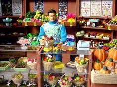 Barbie's Vegetable Shop diorama  http://www.marcdolls.ch
