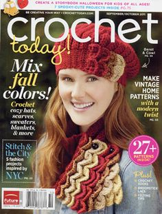 Crochet Today! Magazine - www.crochettoday.com #crochettoday #magazine ...