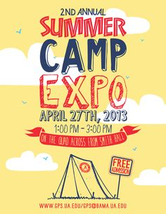 Awesome Summer Camp Flyer