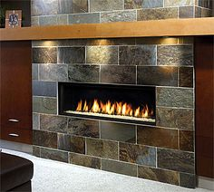 Stylish home: Fireplaces | Gas fireplace mantel, Modern fireplaces ...