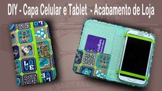 Diy Wallet Phone Case, Cell Phone Pouch, Scrap Fabric Projects, Sewing Projects, Wristlet Tutorial, Tablet Cover, Ipad Tablet, Activities For Teens, Diy Case